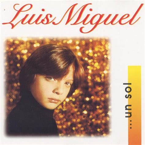 Luis Miguel-(1982)-Un Sol - Identi