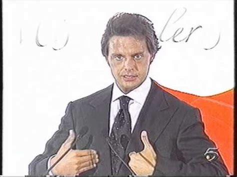 Luis Miguel - Conferencia de prensa