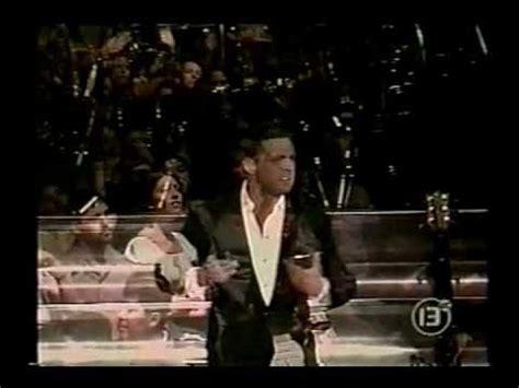 Luis Miguel - Romances Medley (Live - Santiago, Chile 1999 ...