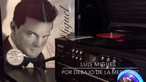 Luis Miguel Vinyl Romances 1997 - YouTube