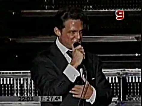 Luis Miguel Vivo Argentina Complices 2008   YouTube