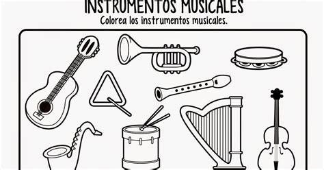 Lujo Libre De Música Para Colorear Molde   Ideas Para ...