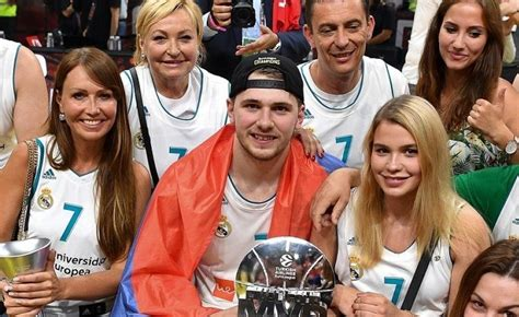 LUKA DONCIC'S MOTHER IS HOT! Future NBA superstar was ...