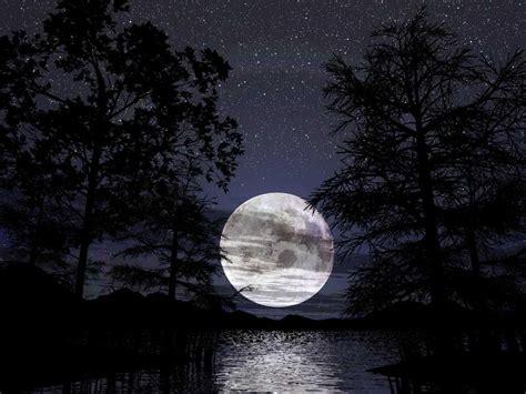 Luna Llena Reflejada en el Mar - Taringa!