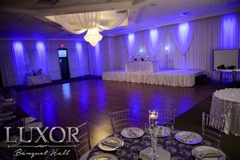 Luxor Banquet Hall | Wedding and Quinceanera Reception ...