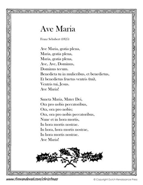Lyrics Ave Maria Latin Translation - dagorcontent