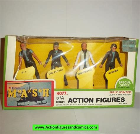 M*A*S*H* mash tv series action figures 4 PACK BOXED SET ...