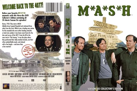 M*A*S*H Season Six (1977) R1 Custom - TV Series - Front ...