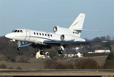 M CICO   Private Dassault Falcon 50 at London   Luton ...