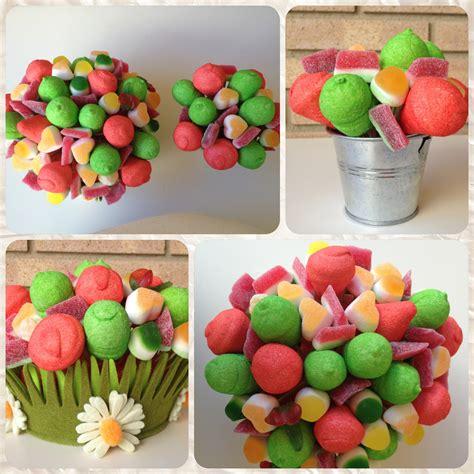 Maceta Con Flores De Chuches | macetas de flores de ...