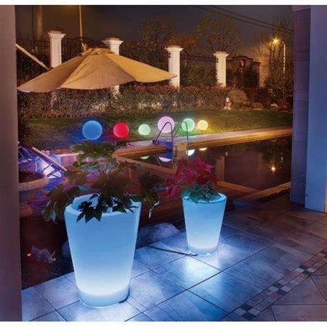 Macetero Alargado 36 LEDS Jardín y exteriores como interiores.
