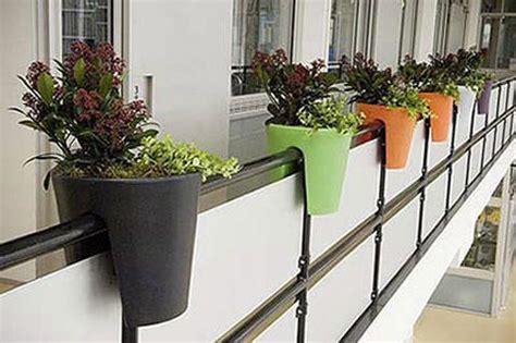 Maceteros para balcones pequeños