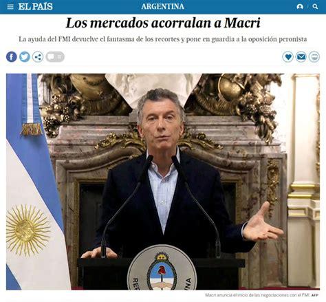 MACRILANDIA: La crisis de la argentina de Macri en los ...
