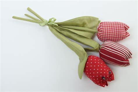 MADEHEART > Flores de tela hechas a mano tulipanes ...