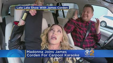 Madonna Carpool Karaoke   YouTube