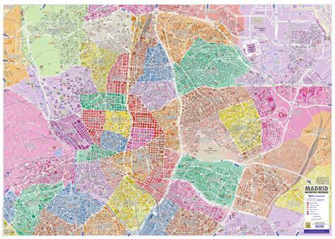MADRID, distritos postales   Mapas para no perder el Norte
