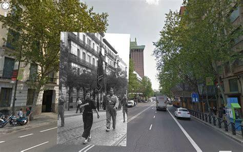 Madrid hace no tanto: ventanas a la guerra en Google ...