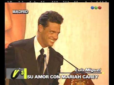 Madrid: Luis Miguel su relacion con Mariah Carey - Versus ...