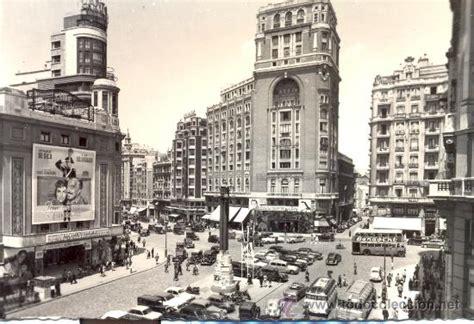 madrid. plaza del callao. postal años 60. m   Comprar ...