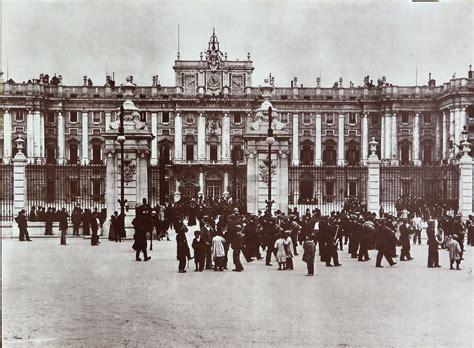 """Madrid – """"Palacio Real"""" reproducción foto antigua – El ..."""