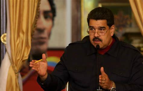 Maduro asegura que hay un golpe de Estado en marcha en ...