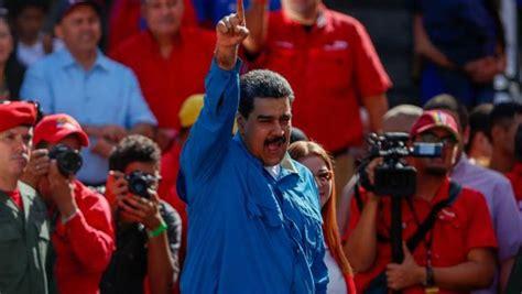 Maduro tacha de «corrupto y racista» al Gobierno de Rajoy ...