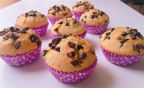 Magdalenas con pepitas de chocolate en el Monsieur Cuisine ...