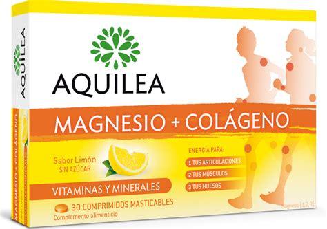 Magnesio+Colágeno   Vitaminas para el cansancio   Aquilea