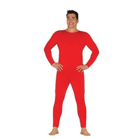 Maillot Mono Body para Hombre en Color Rojo. Envío en 24h