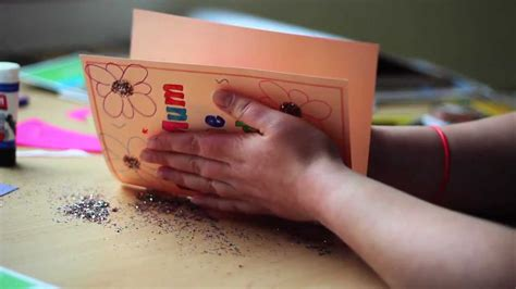 Make a Mother s Day card   YouTube