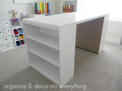 Make Your Own DIY Craft Table Using Inexpensive Pieces ...