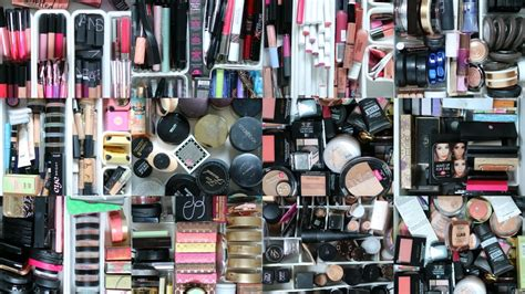 Makeup Collection and Storage 2016 - YouTube