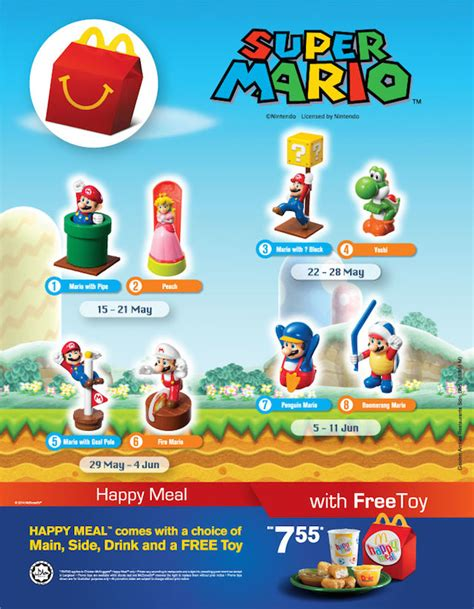 Malaysia gets Super Mario Mcdonald's Happy Meal toys, is ...