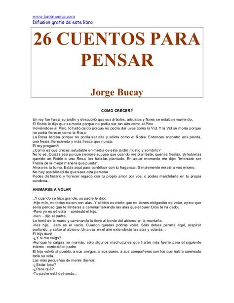 Malinos Fliles: 26 Cuentos Para Pensar Jorge Bucay Pdf