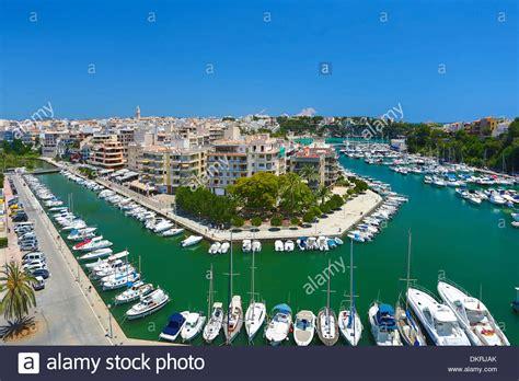 Mallorca Balearics Porto Cristo architecture blue boats ...