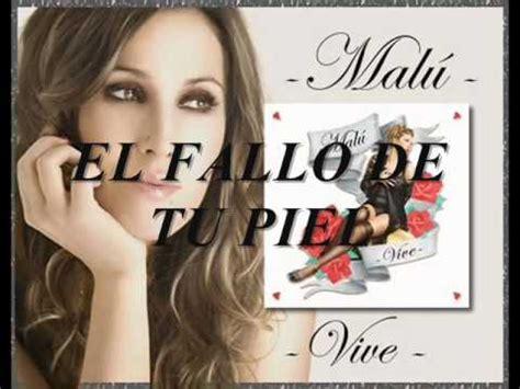 Malú - Vive - Disco Completo - YouTube