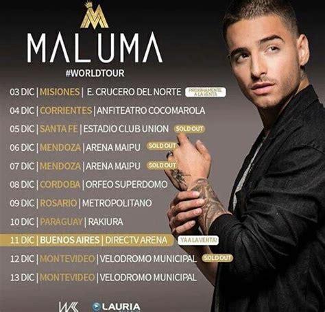 Maluma comenzará su gira por el Mercosur en Misiones ...
