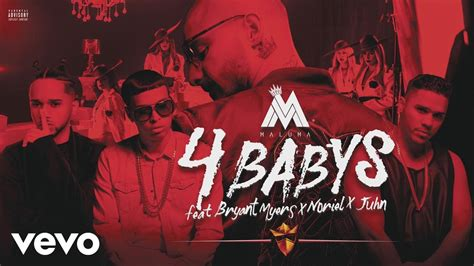 Maluma   Cuatro Babys  Cover Audio  ft. Trap Capos, Noriel ...
