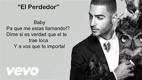 Maluma - El Perdedor (Video con letra/lyrics-Activar ...