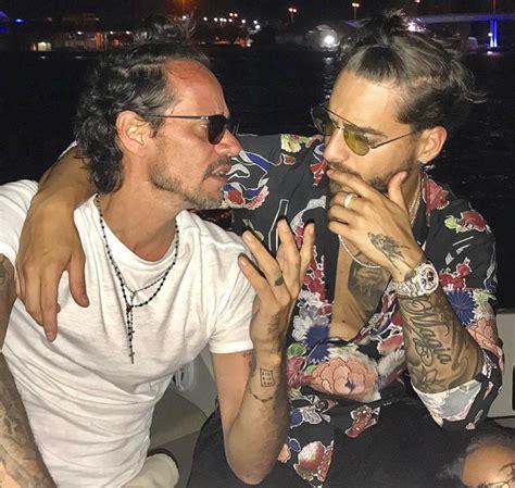 ¡Maluma es la nueva presa de los besos de Marc Anthony ...