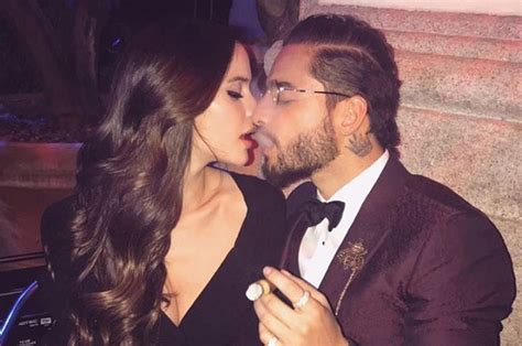 Maluma festeja cumpleaños junto a su novia Natalia ...