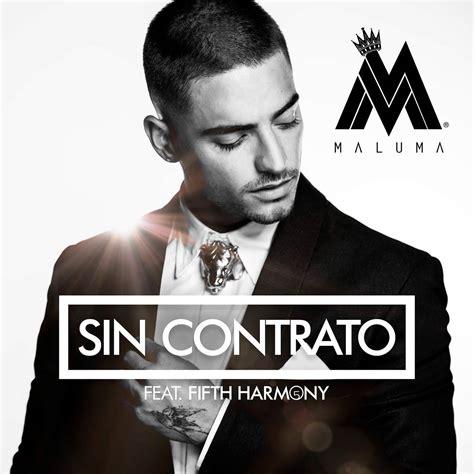 Maluma: Sin contrato, la portada de la cancin