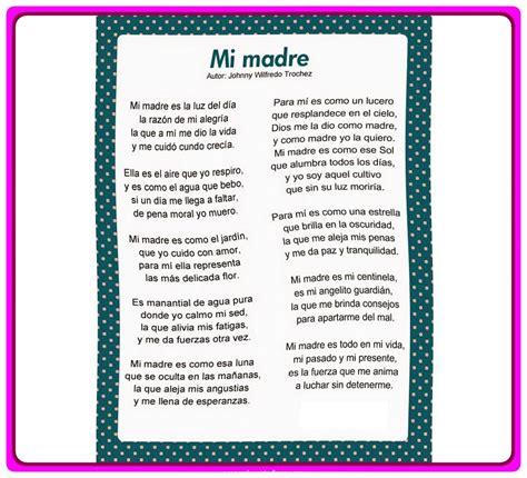 Mamá para ti Poemas Largos que Rimen en tu Día | Poemas de ...