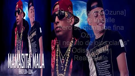 Mamasita Mala   Ñengo Flow Ft. Ozuna  LETRA  2017   YouTube