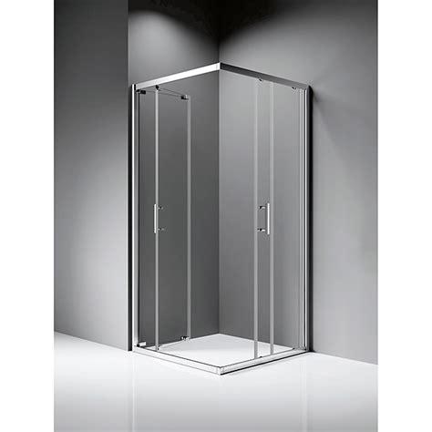 Mampara de ducha esquinera Raisa  800 x 800 x 1.850 mm ...