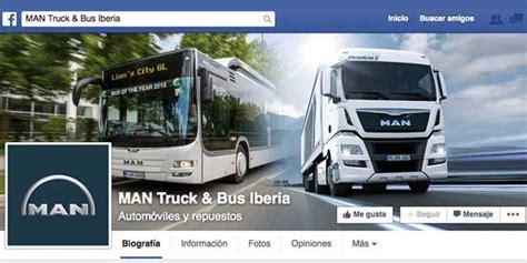 MAN presenta su facebook español | encamion.com
