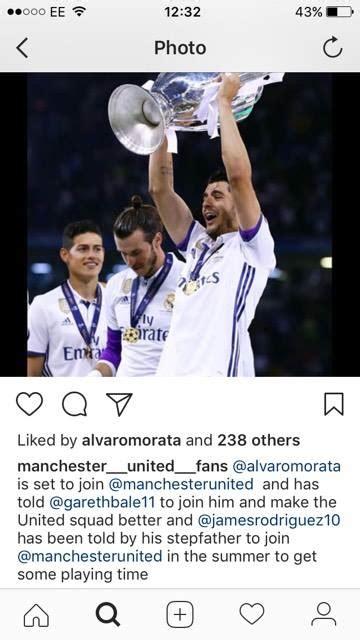 Man Utd transfer news: Alvaro Morata hints he wants two ...