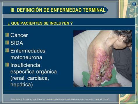 Manejo del paciente en etapa terminal