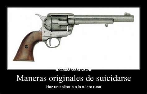 Maneras originales de suicidarse | Desmotivaciones