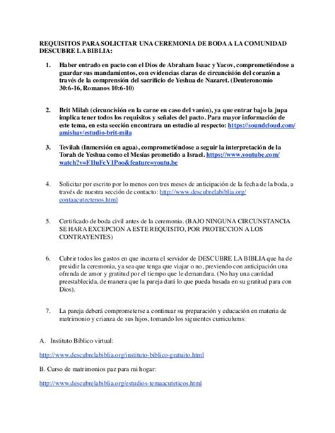 Manual para ceremonia de bodas amishav